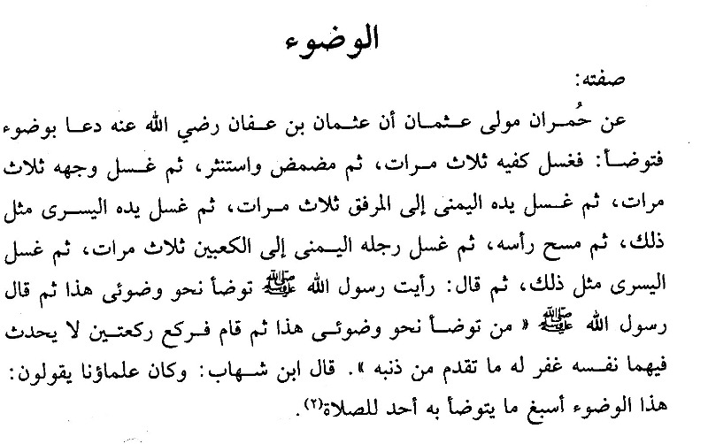 Kitab Alwajiz Fi Figh Sunnah Wal Kitabil Aziz Sifat Wudzu