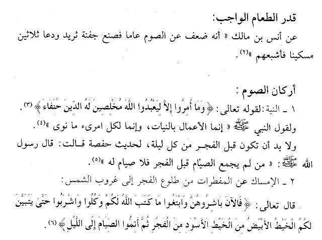 Rukun Puasa Ramadhan Kitab Ringkasan Fiqh